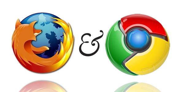 Firefox kontra Chrome – porównanie topowych przeglądarek internetowych.